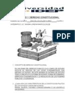 Actividad 1 Derecho Constitucional (15 Marzo 2014)