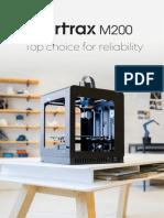 ZORTRAX m200 Brochure 2015