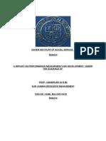 Performance Management Development