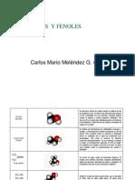 Alcoholes Fenoles CMI
