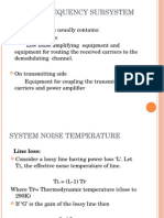 Radio Frequency Subsystem ppt
