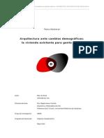 Arquitectura Ante Cambios Demográficos_vivienda Existente Para Personas Mayores