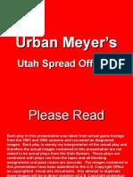 UM Utah Playbook