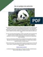 140323848 Animales en Peligro de Extincion PDF