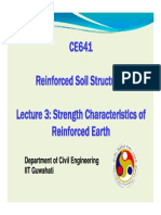 CE 641 Lecture 3 Strength Characteristics of Reinforced Earth