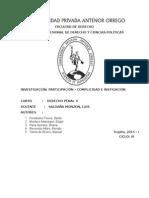 Participación - Derecho Penal