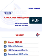 Willis CNOOC HSE Management Practice-En