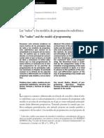 Las Radios y Los Modelos de Programación Radiofónica - Elsa Moreno
