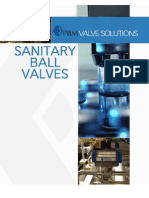 PBM Sanitary Ball Valves