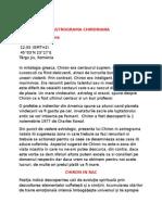 Astrograma Chironiana-dan Aurora Roxana