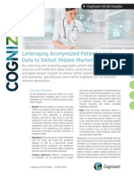 Leveraging Anonymized Patient Level Data to Detect Hidden Market Potential