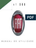 Manual Utilizare Fiat 500