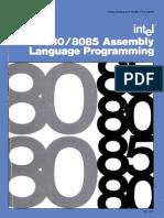 8080-8085 Assembly Language Programming