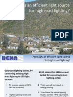 LED for Highmasts