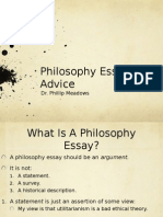 Essay Writing Advice