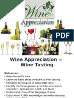 Wine Tasting Presentation