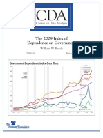 The 2009 Index of Dependence on Government
