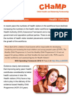 Hot topic briefing paper on Health Visiting