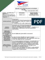 Compte Rendu d'Intervention 50001 Séquence DA 08092015