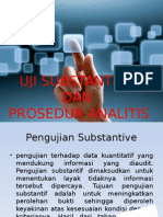 Audit Uji Substantive