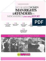 Violence Against WHRDs in Mesoamerica, 2012-2014 Report