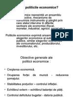 1. Politici Economice