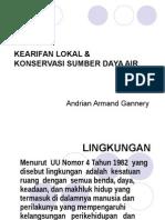 Kearifan Lokal & KSDA