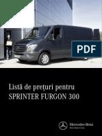 Lista de Pret SprinterFurgon 3002014v405