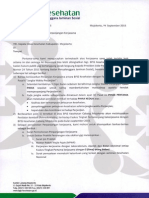 5797 Administrasi Perpanjangan Kerjasama Kab Mojokerto