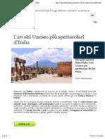 I 20 siti Unesco più spettacolari d'Italia | Skyscanner