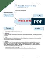 u1l12 possible threats bma
