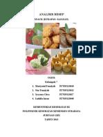 ANALISIS RESEP Kulinari