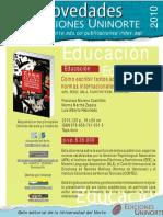 Cómo escribir textos académicos según normas internacionales APA, IEEE, MLA, VANCOUVER, ICONTEC