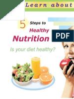 5 Steps to Healthy Nutrition Book4Yo