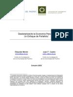 Desdolarizando la economia Peruana