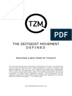 The Zeitgeist Movement Defined PDF Final