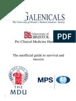 Guide to Preclinical Medicine