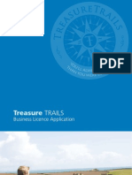 Treasure Trails Licence Brochure