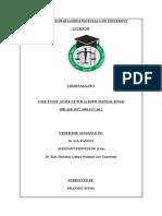 Criminal Law Project - Pranshu