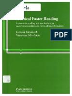 Practical Faster Reading - Gerald Mosback & Vivienne Mosback
