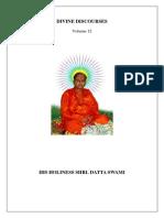 Divine Discourses- Vol 12