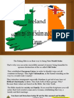 Ireland- Modern Country of Canaan and City of Sodom
