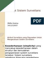 Atribut Sistem Surveilans