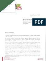 Cambadélis propose à Nicolas Sarkozy une saisine commune du CSA contre la venue de Marine Le Pen à DPDA