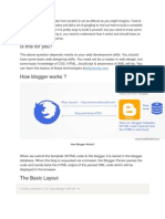 Designing a Blogger Template From Scratch is Not as Difficult as You Might Imagine