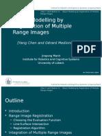 Object Modelling by Registration of Multiple Range Images