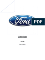 Ford Analysis