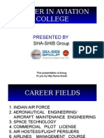 Career in Aviation College