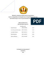 Contoh Proposal PKM K Yang lolos PIMNAS