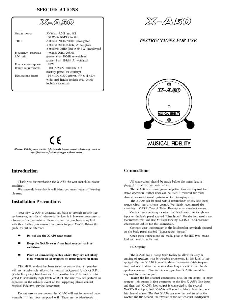 Xa50 Amp Loudspeaker Amplifier 2n3055 50watts Audio Circuit Schematic